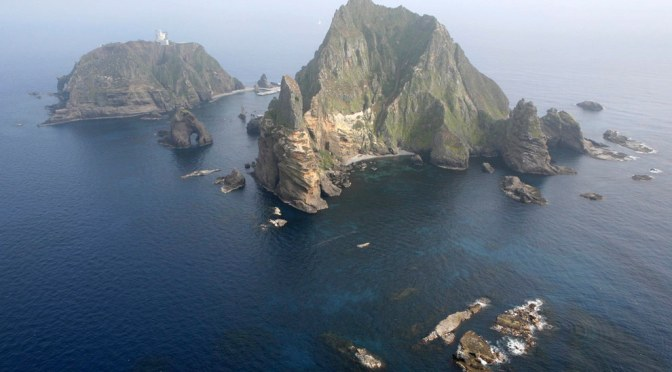 The disputed islands of Dokdo/Takeshima