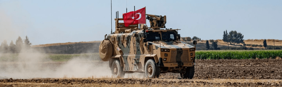 (DELIL SOULEIMAN/AFP/Getty Images) Turkey sends its military into Syria