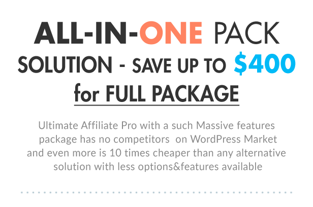 Ultimate Affiliate Pro WordPress Plugin - 6