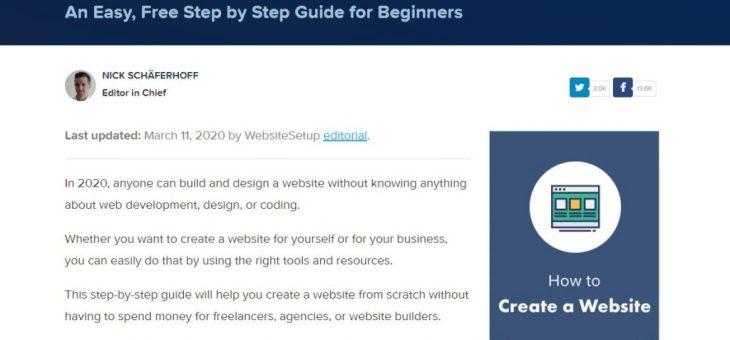 Websitesetup.org – Hoe verdient deze Publisher Online Geld?