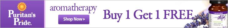 Puritan's Pride: Aromatherapy - Buy 1 Get 1 Free