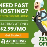 A2 Hosting for WordPress Blog