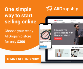 One simple way to start selling online