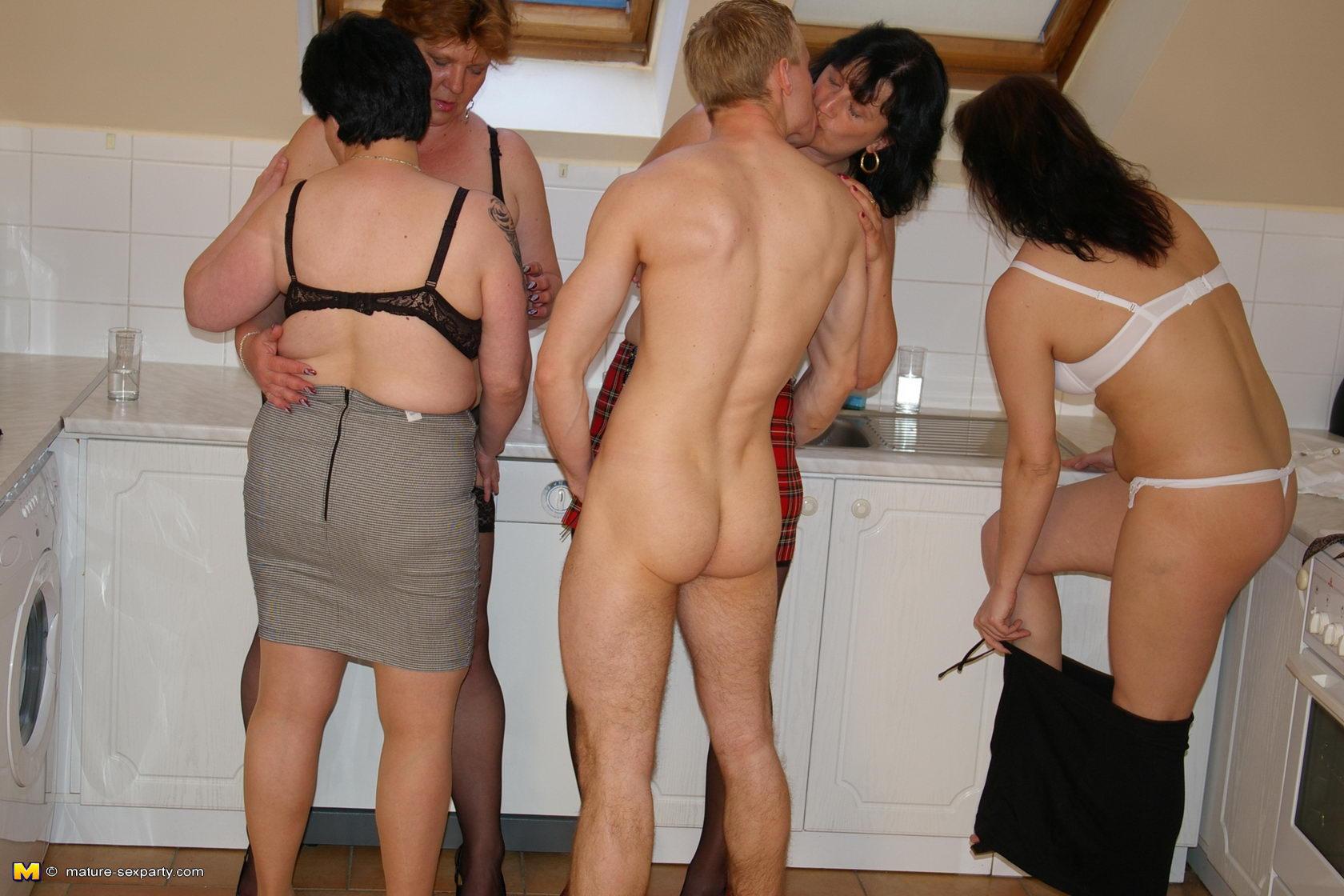 Sex mature party group Group Sex