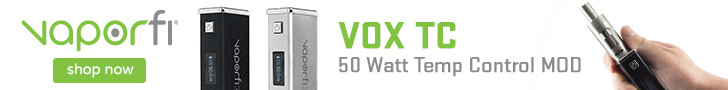 VaporFi VOX TC 50 Watt Temp Control MOD - Shop Now