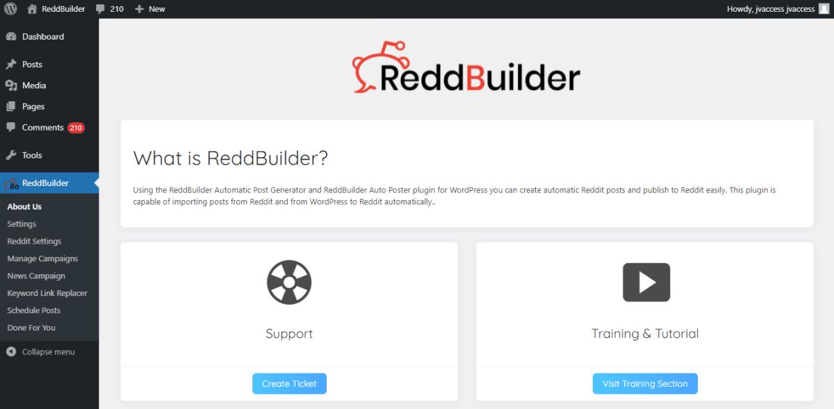reddbuilder-review-main-dashboard-login