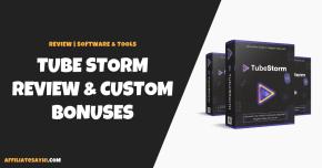 TubeStorm Review (Jonny Rose): FULL Walk-Through! [NEW]