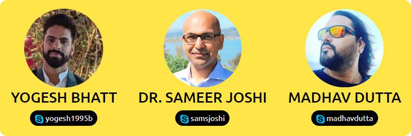 yogesh-bhatt-dr-sameer-joshi-madhav-dutta