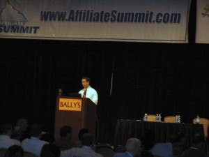 Michael Sanchez at Affiliate Summit West 2007