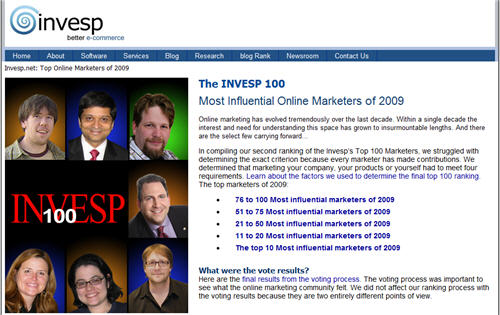 most-influential-online-marketers-of-2009