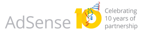 Google AdSense turns 10 years old