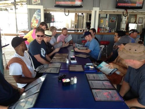 Austin Digital Marketing Meetup Group at the Gnarley Gar