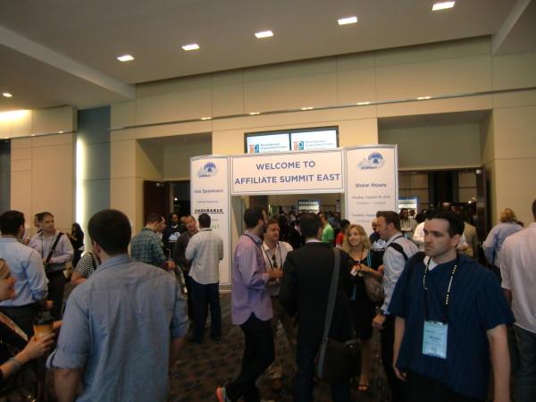 Affiliate Summit Exhibit Hall Entrance