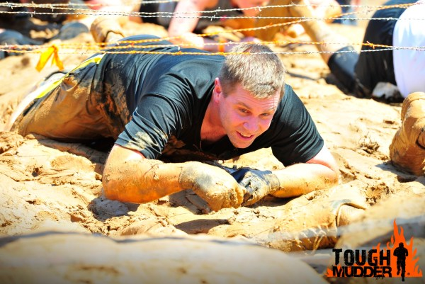 Shawn Collins at the Tough Mudder