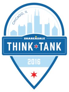 ShareASale ThinkTank 2016