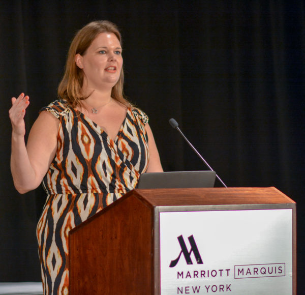 Kristen Pulver at Affiliate Summit East 2016