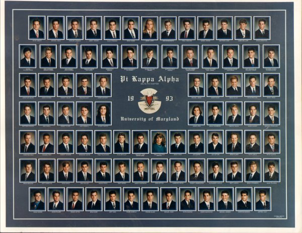 Pi Kappa Alpha at University of Maryland 1993