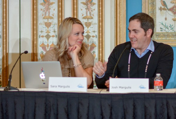 Sara Margulis and Joshua Margulis at Affiliate Summit West 2019