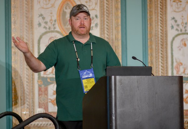 Chuck Mullins at Affiliate Summit West 2017