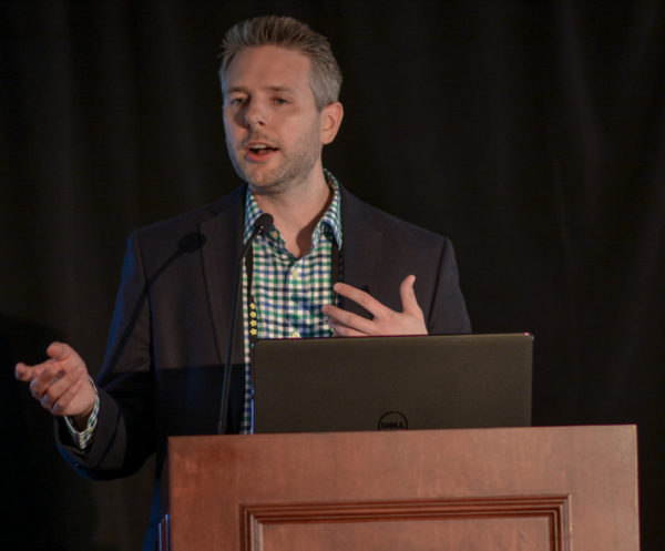 Adam Dahlen at Affiliate Summit East 2017