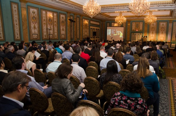 Shawn giving the First Timers talk at Affiliate Summit West 2015