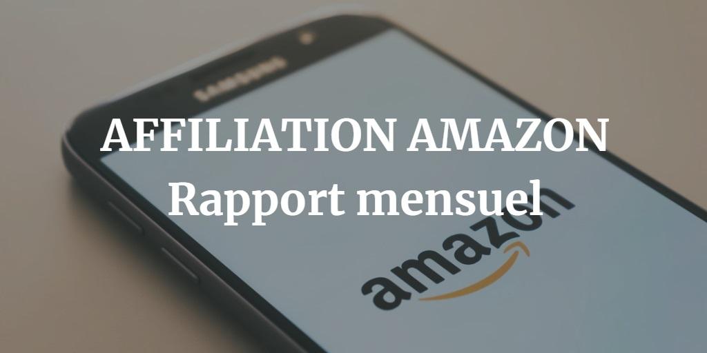 Affiliation Amazon (Etude de cas Juillet 2019)