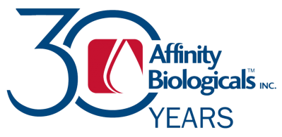 30 Years Affinity Biologicals Logo