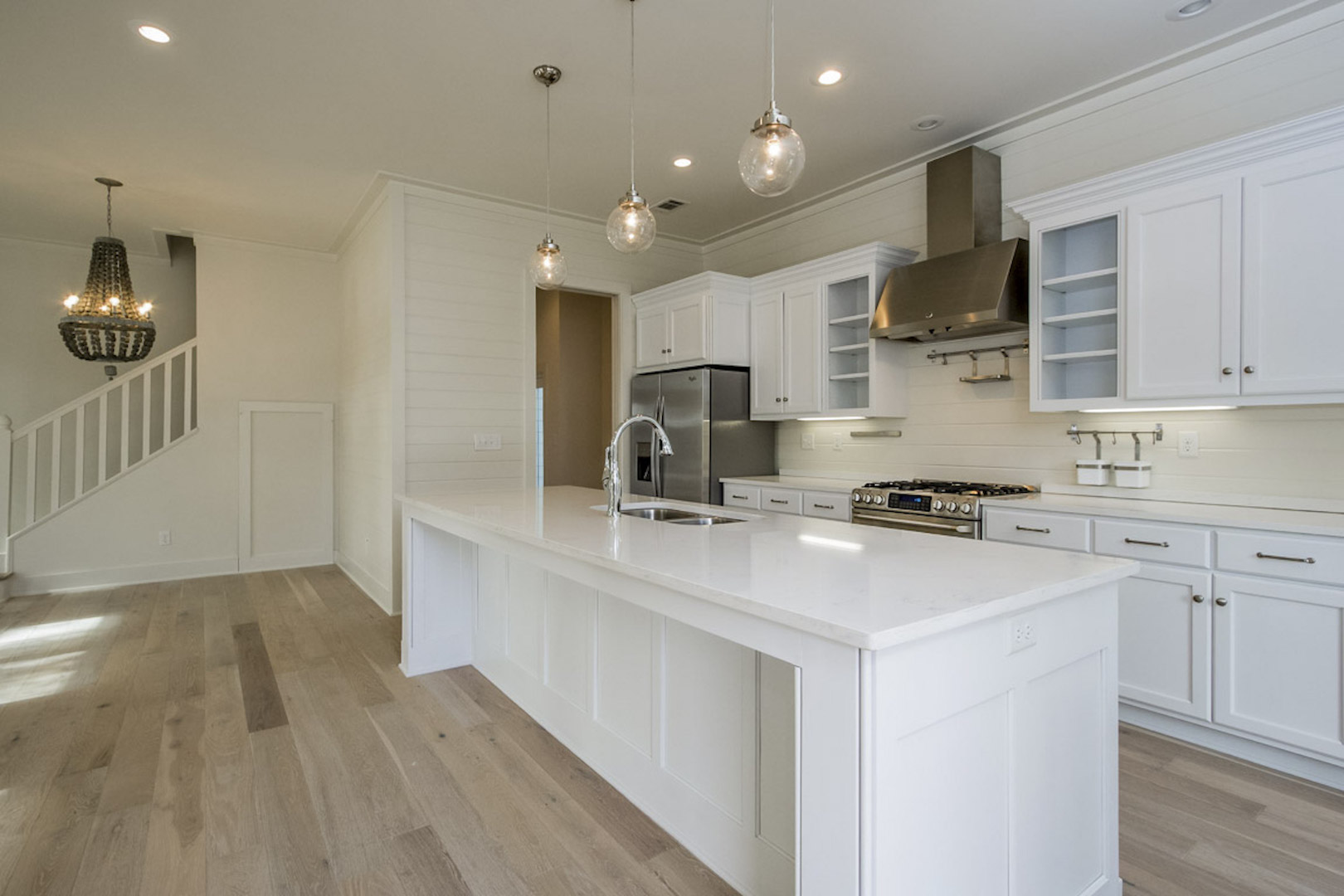 custom modular home kitchen