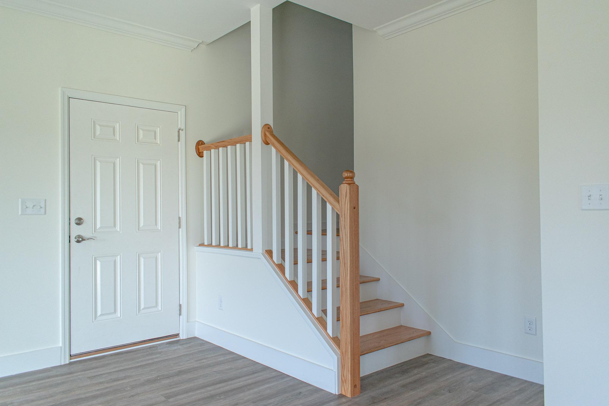 modular home staircase