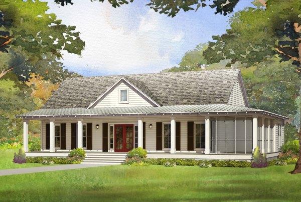 piedmont modular home rendering
