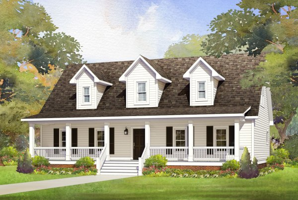 st mary modular home rendering