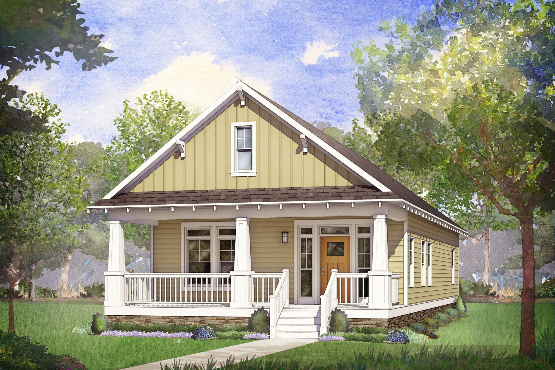 whitney lake modular home rendering