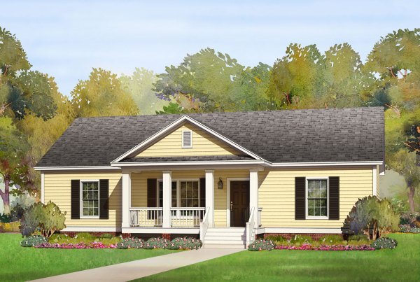 woodberry modular home rendering