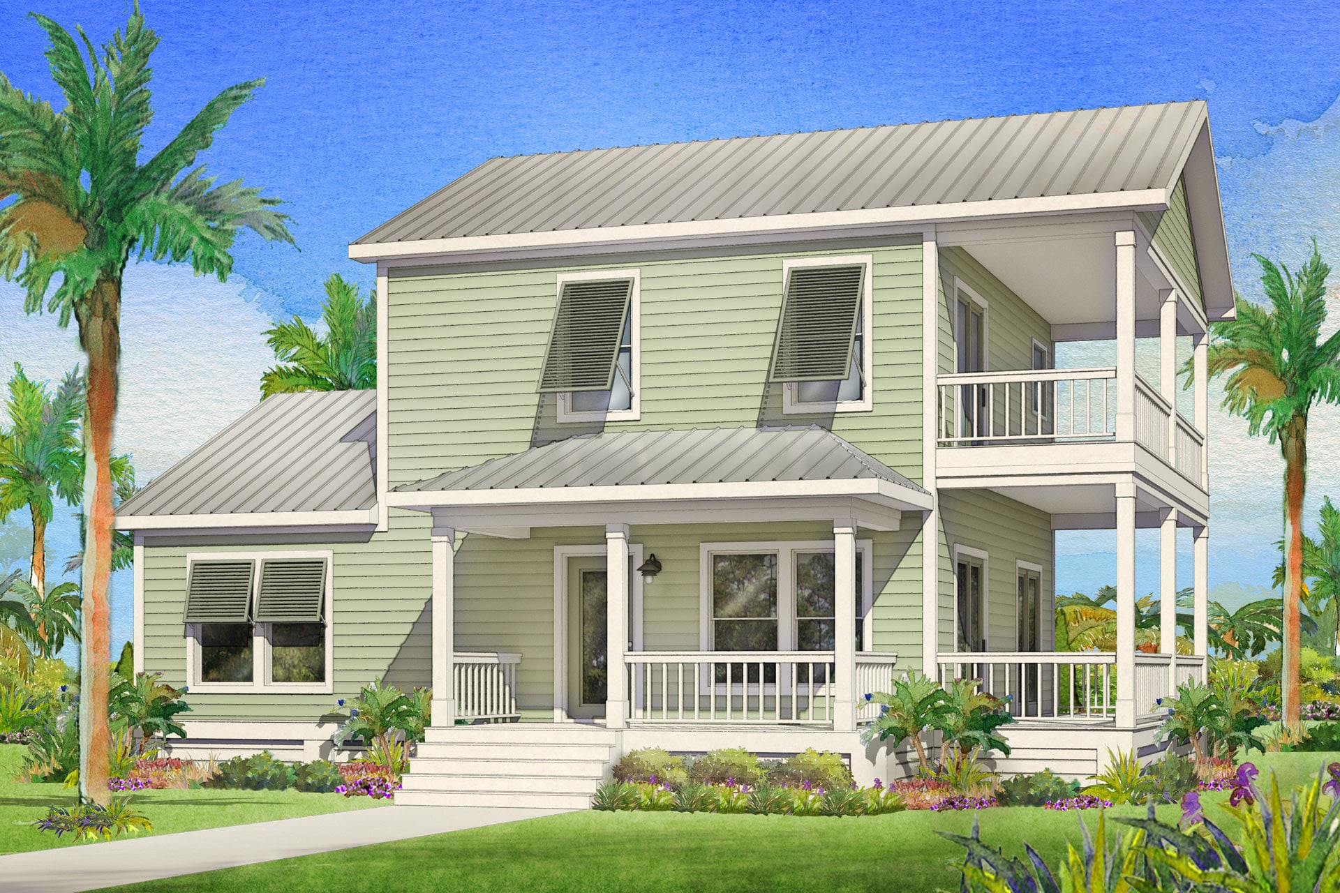 kingfisher modular home rendering