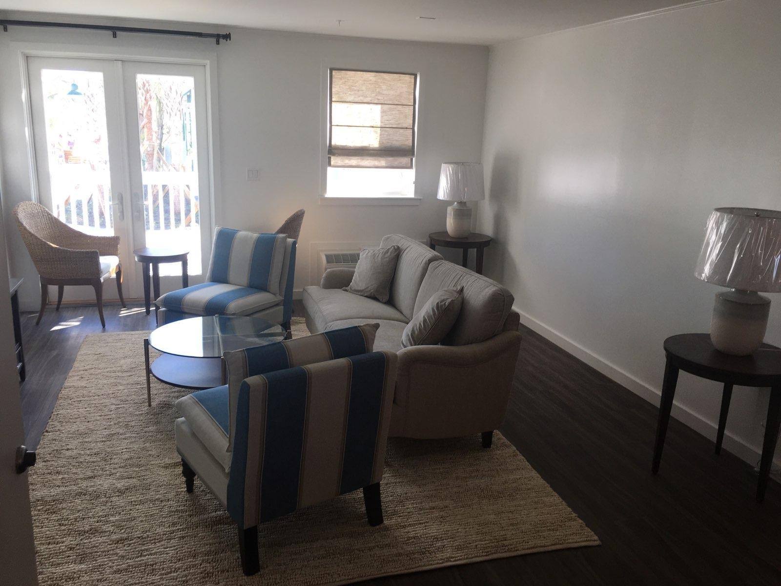 multi family modular home living room
