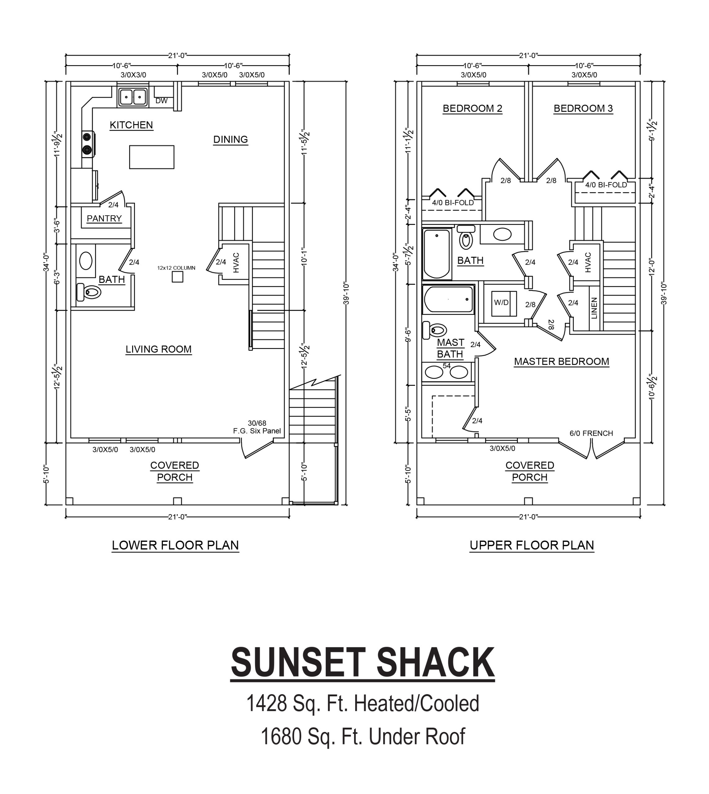 sunset shack modular home floor plan