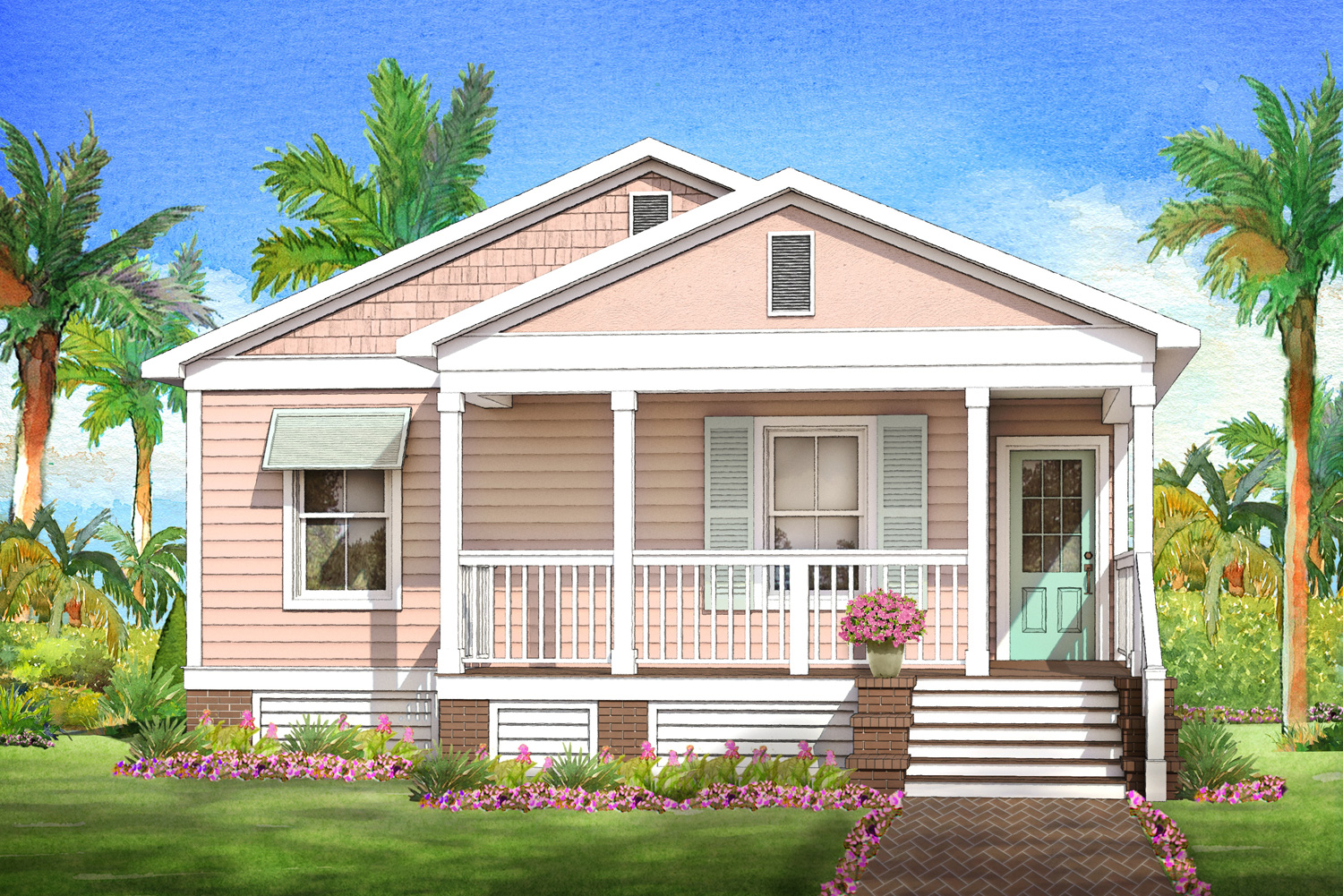 coral cottage modular home