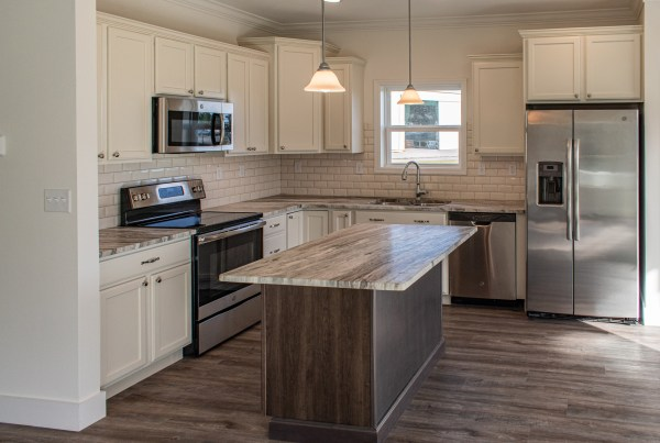 modular home kitchen granite counter tops