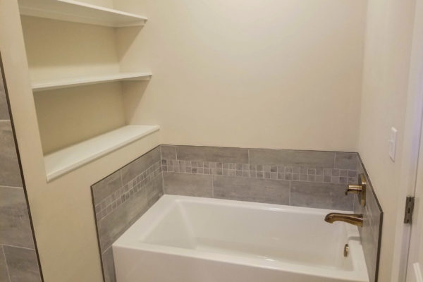 sapelo modular home bathroom tub