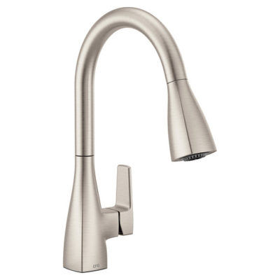 76162SRS Single Hole Pulldown Kitchen - Spot Resistant Stainless