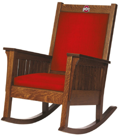 The Best Ohio State Chair  Made in Ohio  Amish Chairs