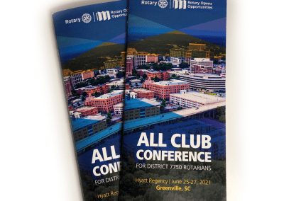 All Club Conference Program