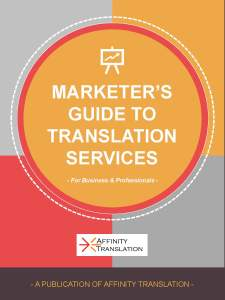 Marketer's Guide to Translation Services