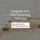 language interesting