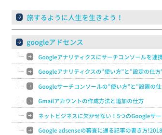 PS Auto sitemap:矢印