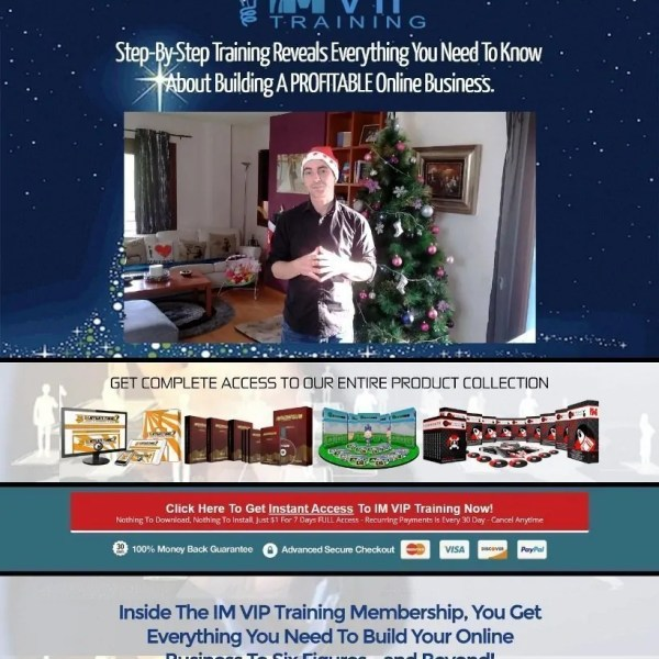 Review IM VIP Training by Kevin Fahey