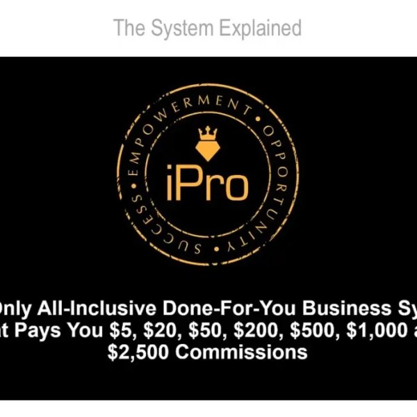 Review iPro Partner Programs by Dean Holland