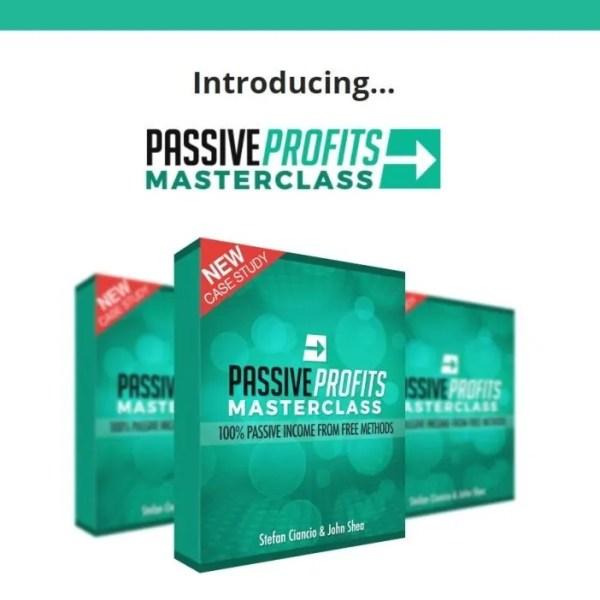 Review Passive Profits Masterclass by Stefan Ciancio and John Shea