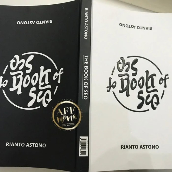 Review Buku The Book of SEO by Rianto Astono