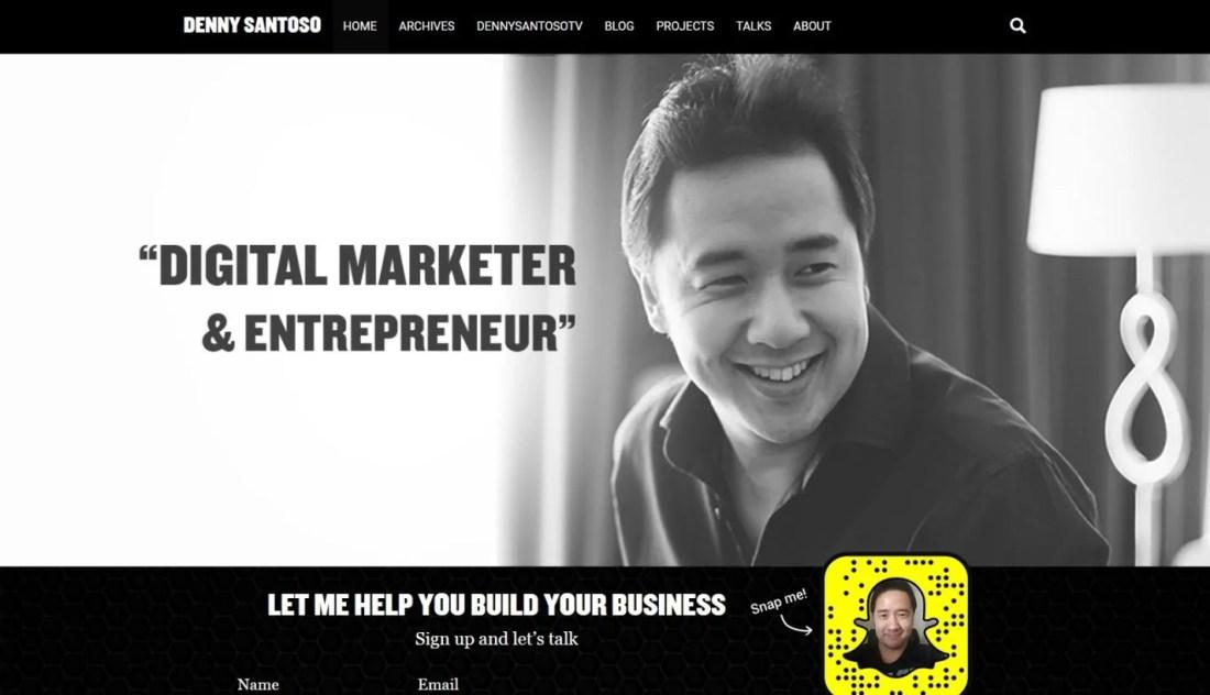 Blog Bisnis Online Strategi Denny Santoso